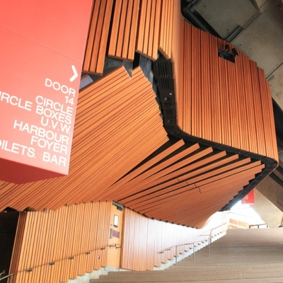 Sydney Opera House installation is under way
