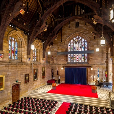 The Great Hall of the University of Sydney