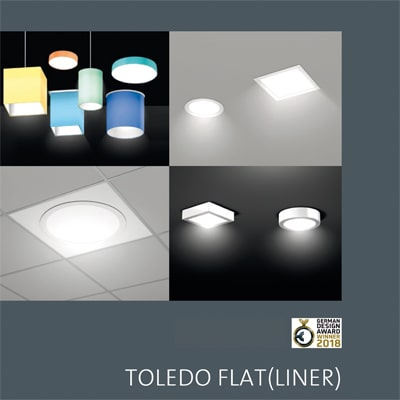 TOLEDO FLAT - German Design Award Winner 2018